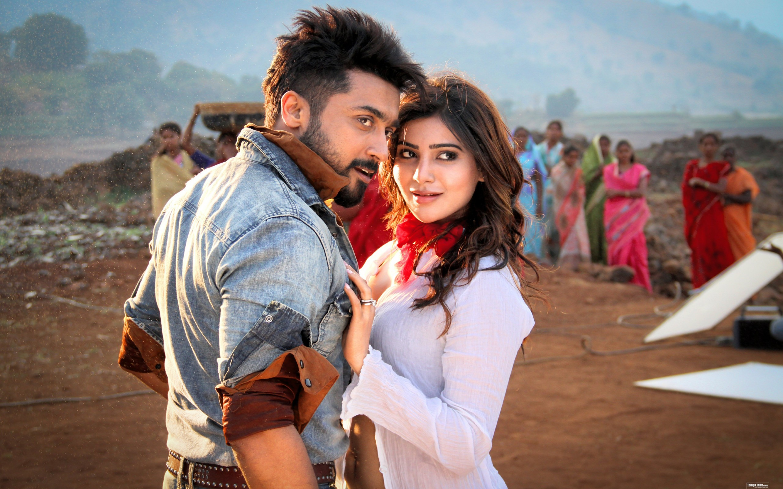 Cute Surya Wallpapers Surya Samantha Anjaan Wallpapers Hd Wallpapers Id 15649