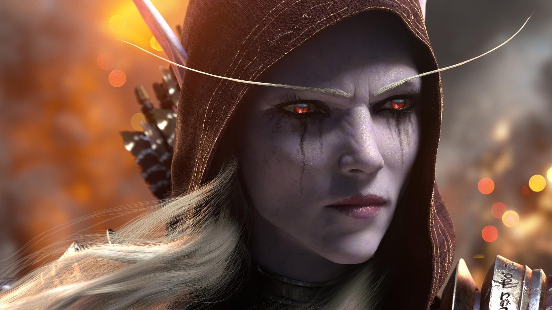 Cute Haunter Wallpaper Sylvanas Windrunner World Of Warcraft Battle For Azeroth