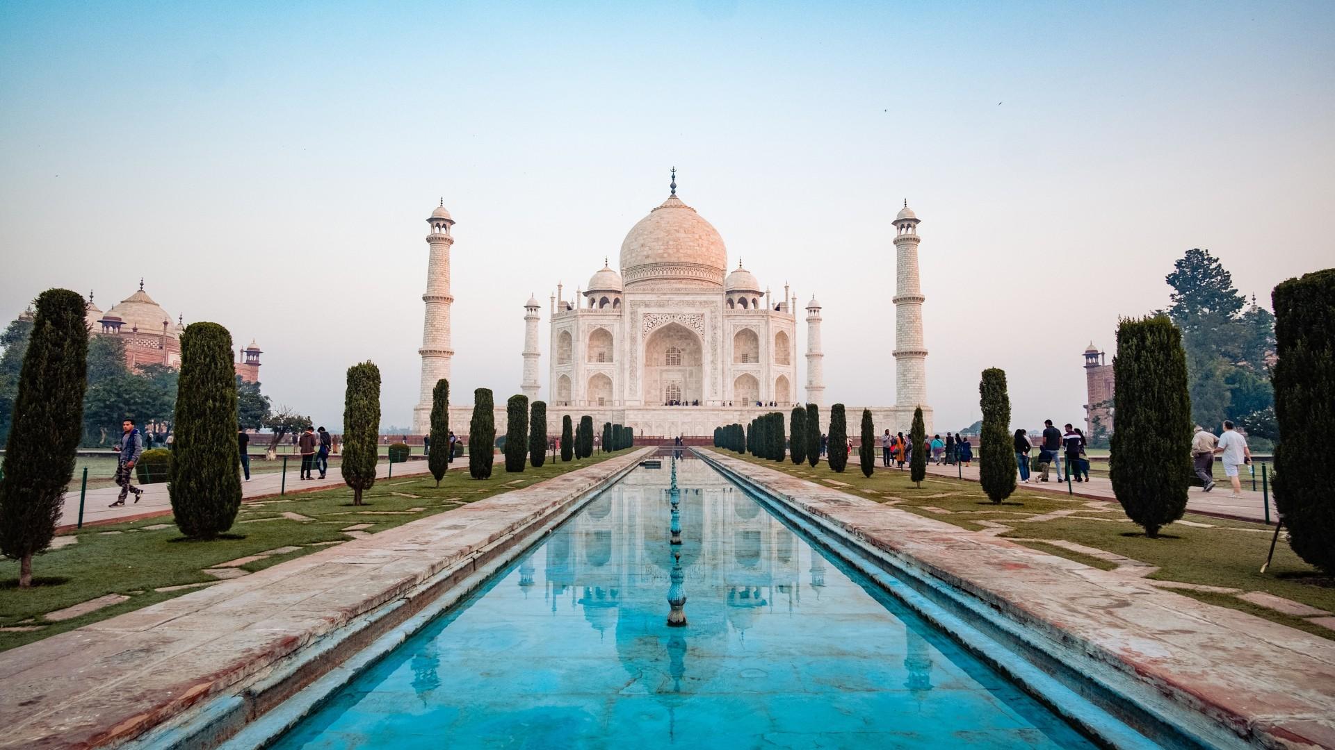 Wallpaper 3d Android Taj Mahal Agra India 4k Wallpapers Hd Wallpapers Id 27067