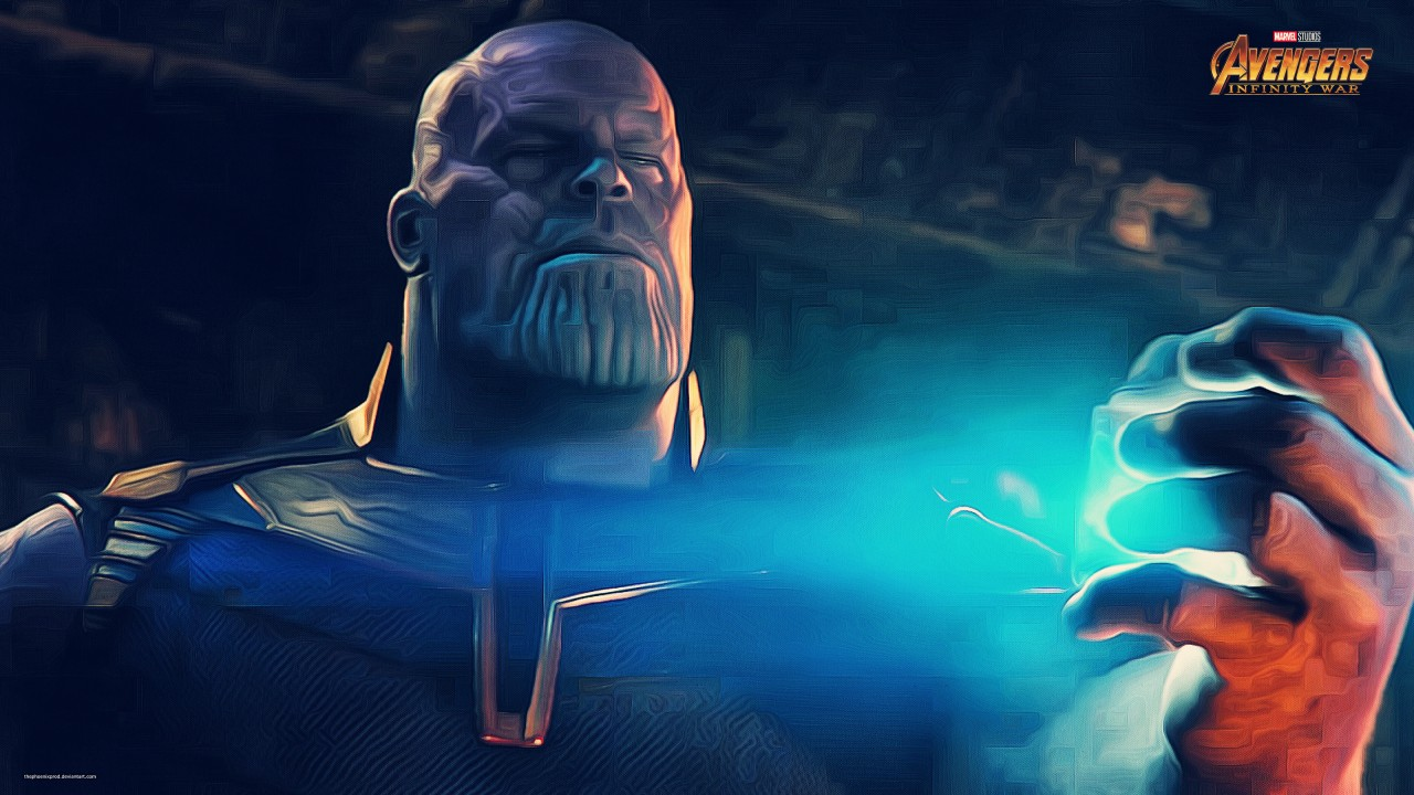 Dark Knight 3d Wallpaper Thanos In Avengers Infinity War Wallpapers Hd Wallpapers
