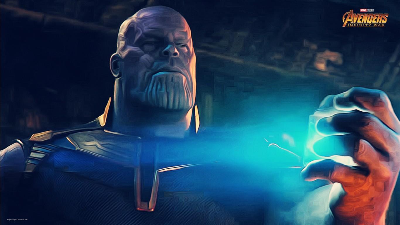 Phoenix Wallpaper Hd 3d Thanos In Avengers Infinity War Wallpapers Hd Wallpapers