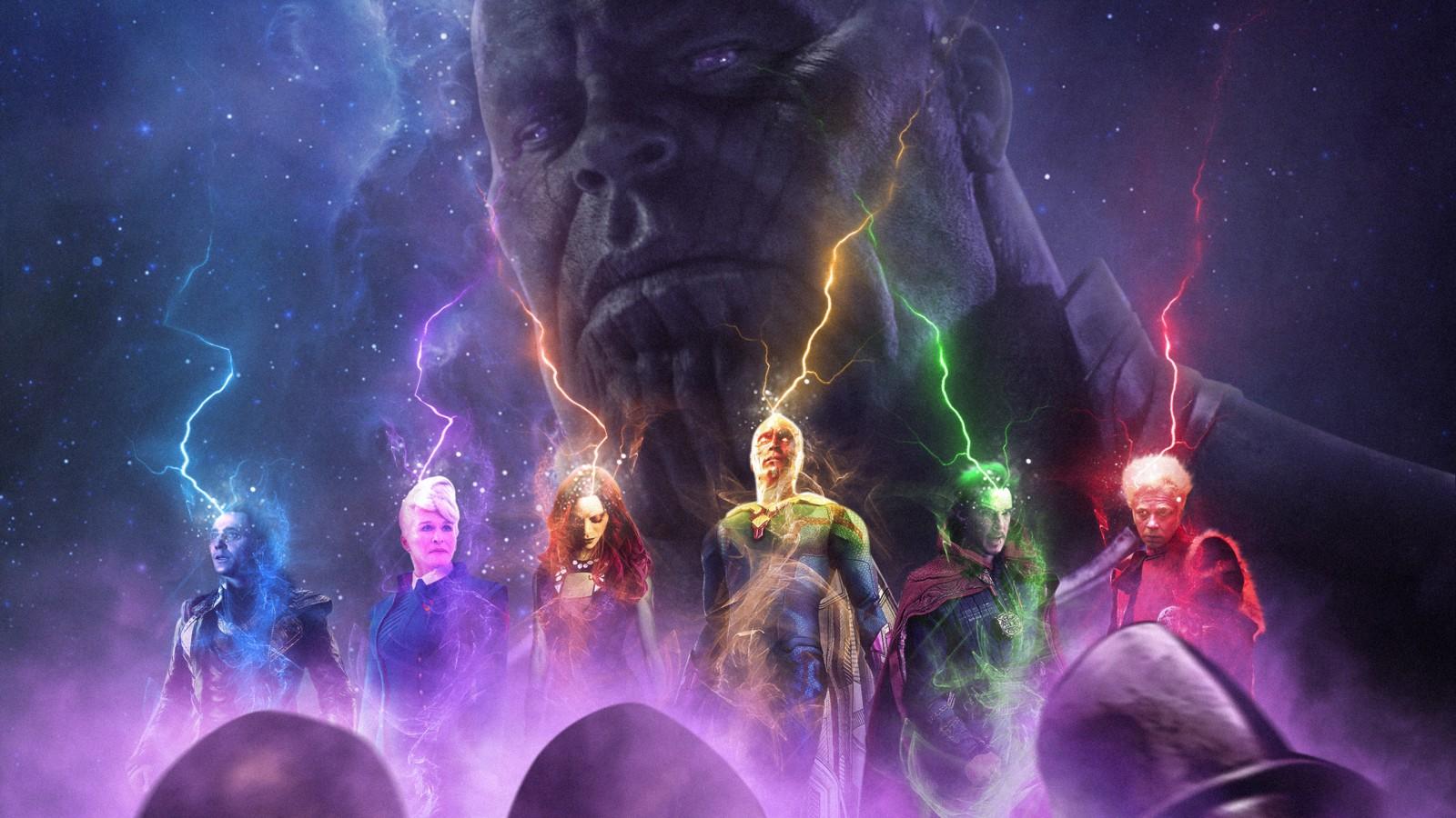 Cute Animals Hd Wallpapers 1080p Thanos Vs Avengers Wallpapers Hd Wallpapers Id 27716