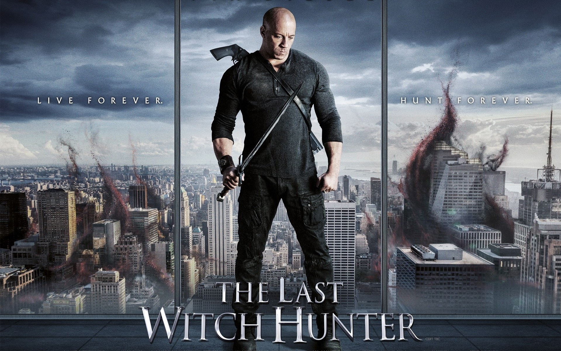 Smurfs 3d Wallpaper The Last Witch Hunter Vin Diesel Wallpapers Hd