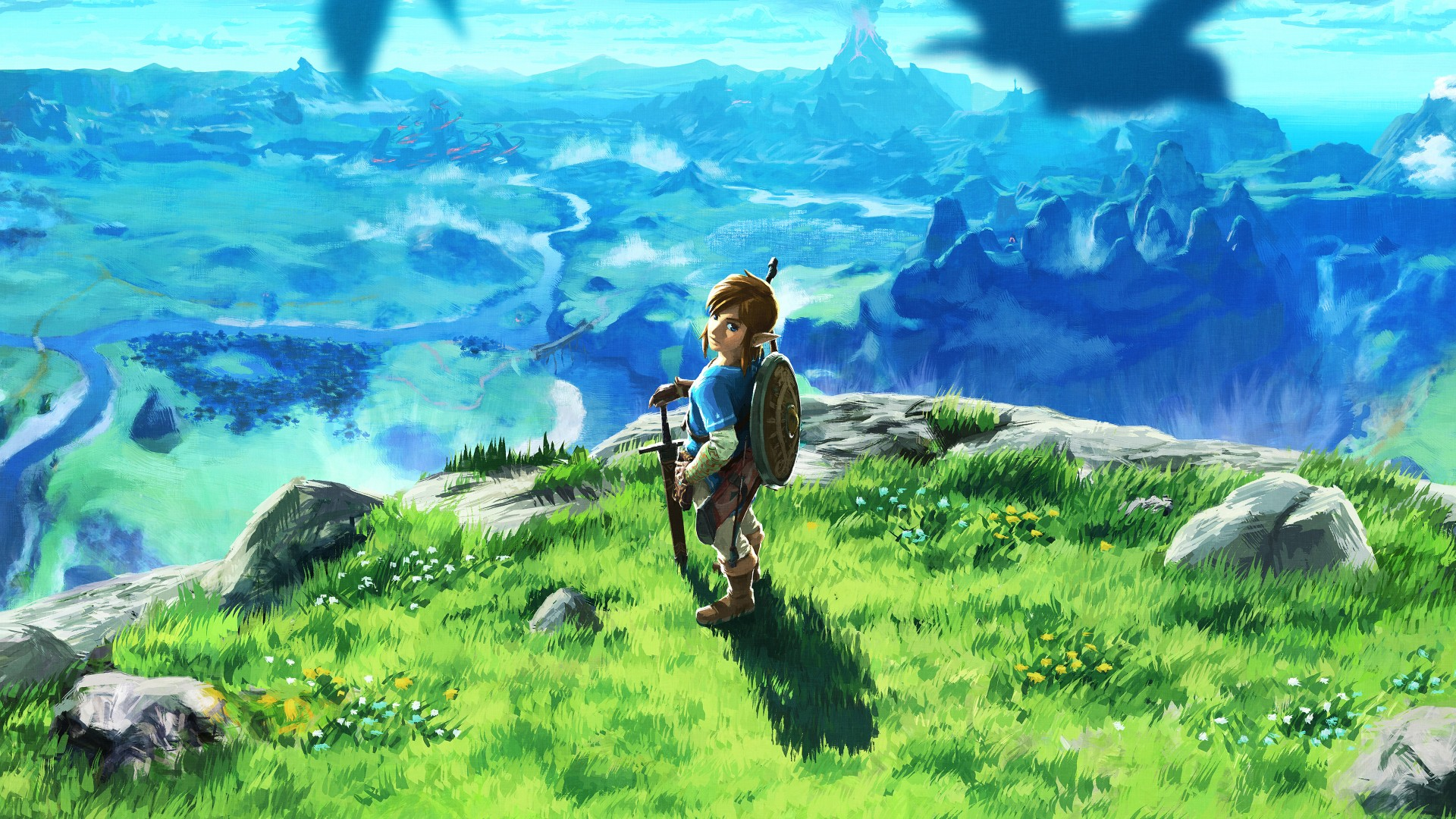 Wallpaper High Definition Cute Animals The Legend Of Zelda Breath Of The Wild 4k 2017 Wallpapers