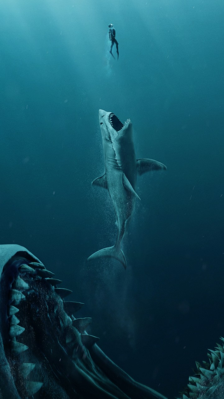 Wallpapers Hd Iphone X The Meg 2018 4k Wallpapers Hd Wallpapers Id 24721