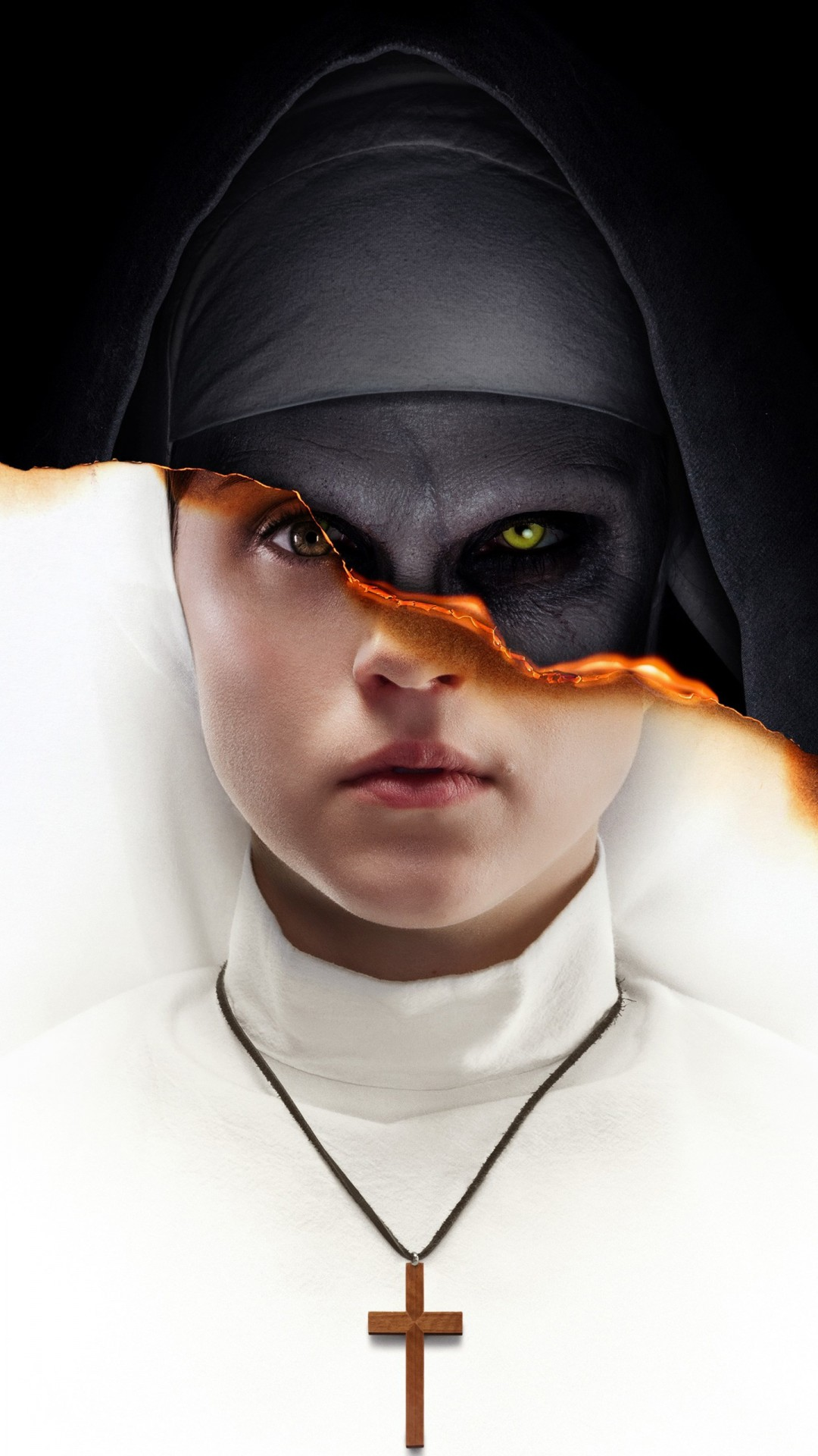 Iphone Hd 3d Wallpapers The Nun Horror Movie 2018 Wallpapers Hd Wallpapers Id