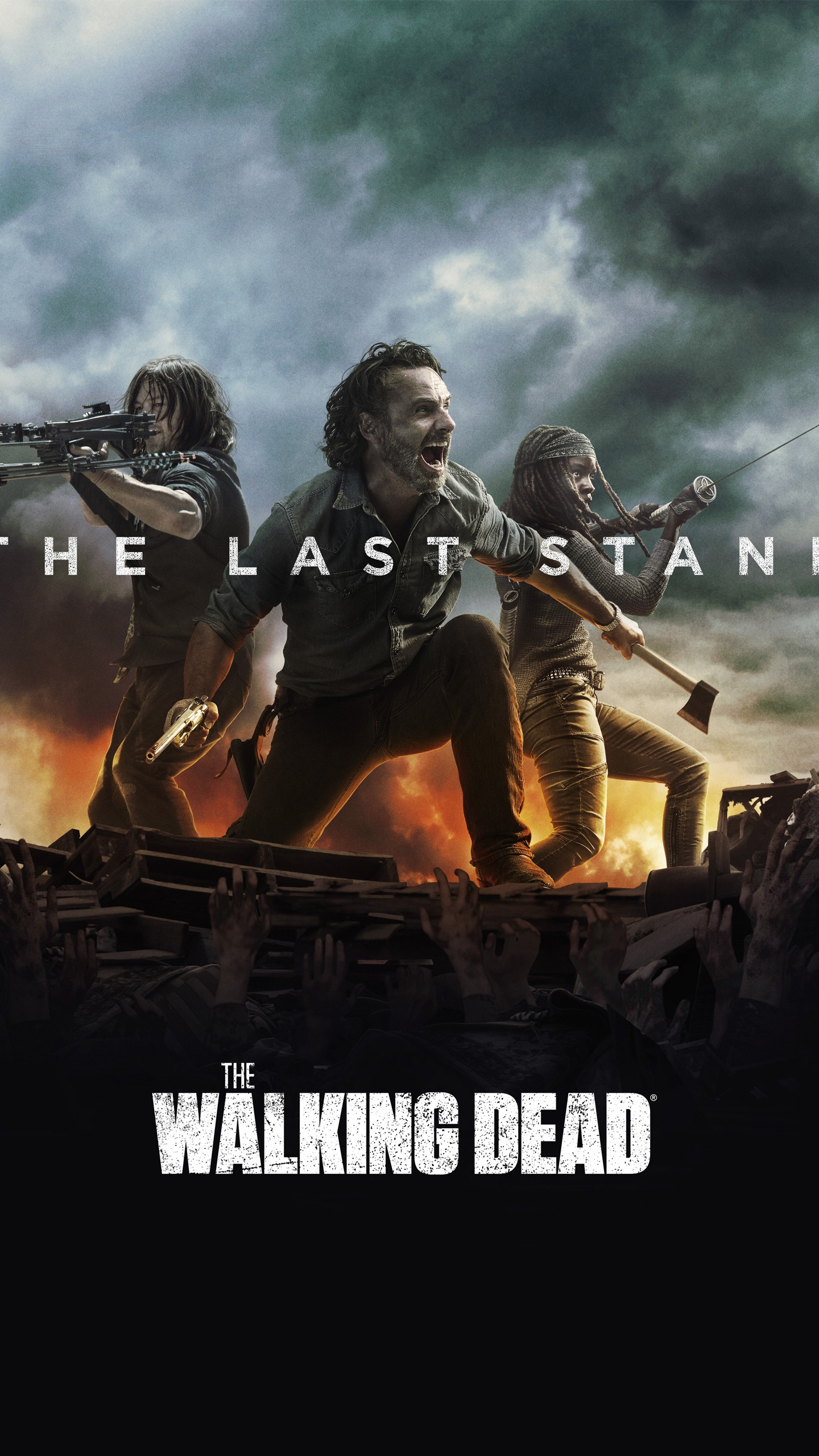 Iphone 8 Plus X Ray Wallpaper The Walking Dead The Last Stand Season 8 4k Wallpapers