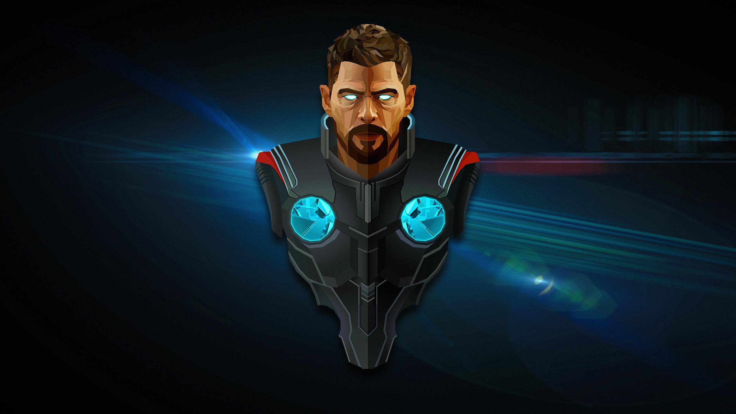 3d Thor Ragnarok Android Wallpaper Thor Avengers Infinity War Minimal Artwork Wallpapers Hd