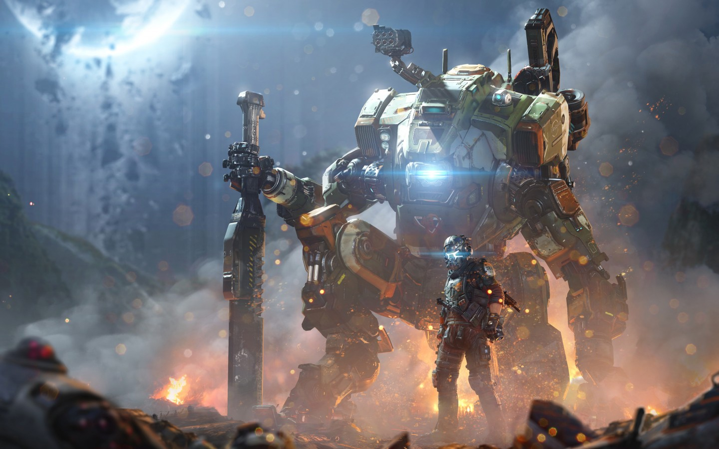 Fall Wallpaper For Iphone 7 Titanfall 2 5k Wallpapers Hd Wallpapers Id 18911
