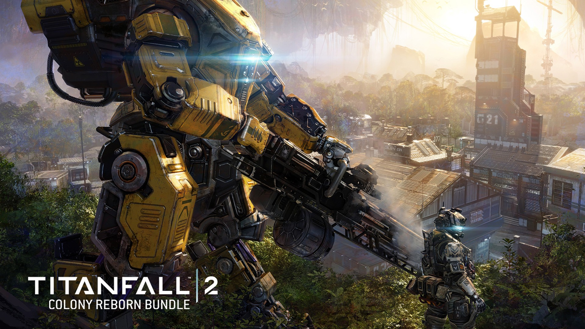 Fall Desktop Wallpaper Widescreen Titanfall 2 Colony Reborn Dlc Wallpapers Hd Wallpapers