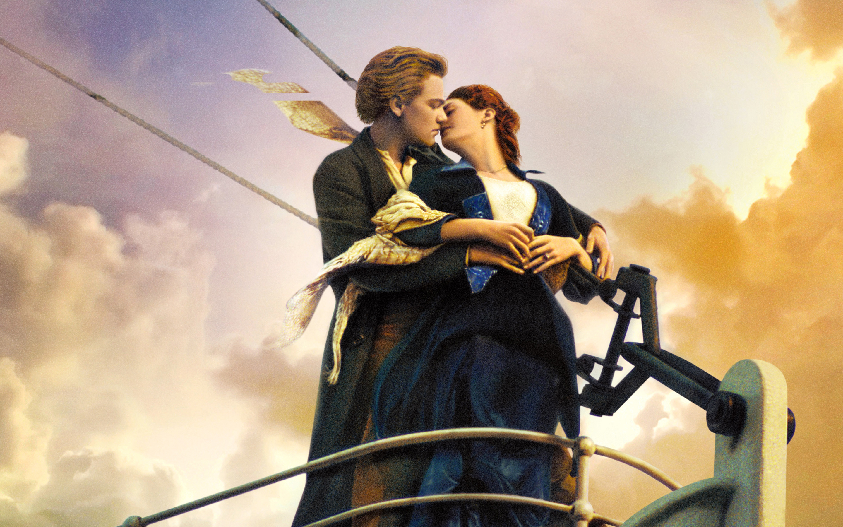 Top 10 3d Wallpapers For Android Titanic Kiss Wallpapers Hd Wallpapers Id 15095