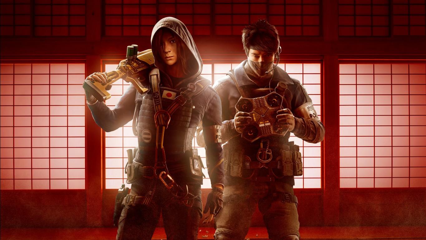 Tekken 6 3d Wallpapers Tom Clancys Rainbow Six Siege Operation Red Crow Operators