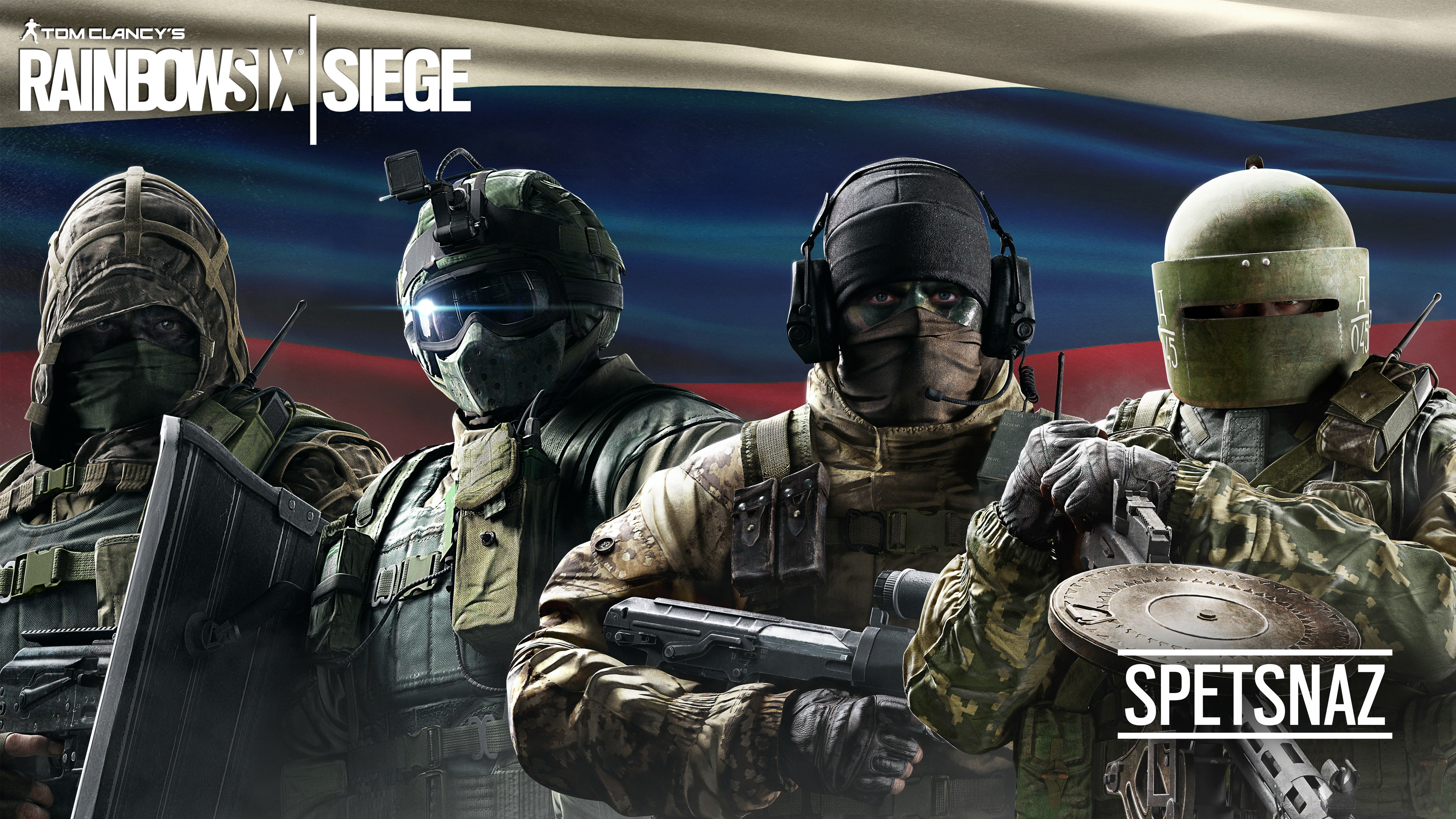 3d Abstract Rainbow Wallpaper Tom Clancy S Rainbow Six Siege Spetsnaz Wallpapers Hd