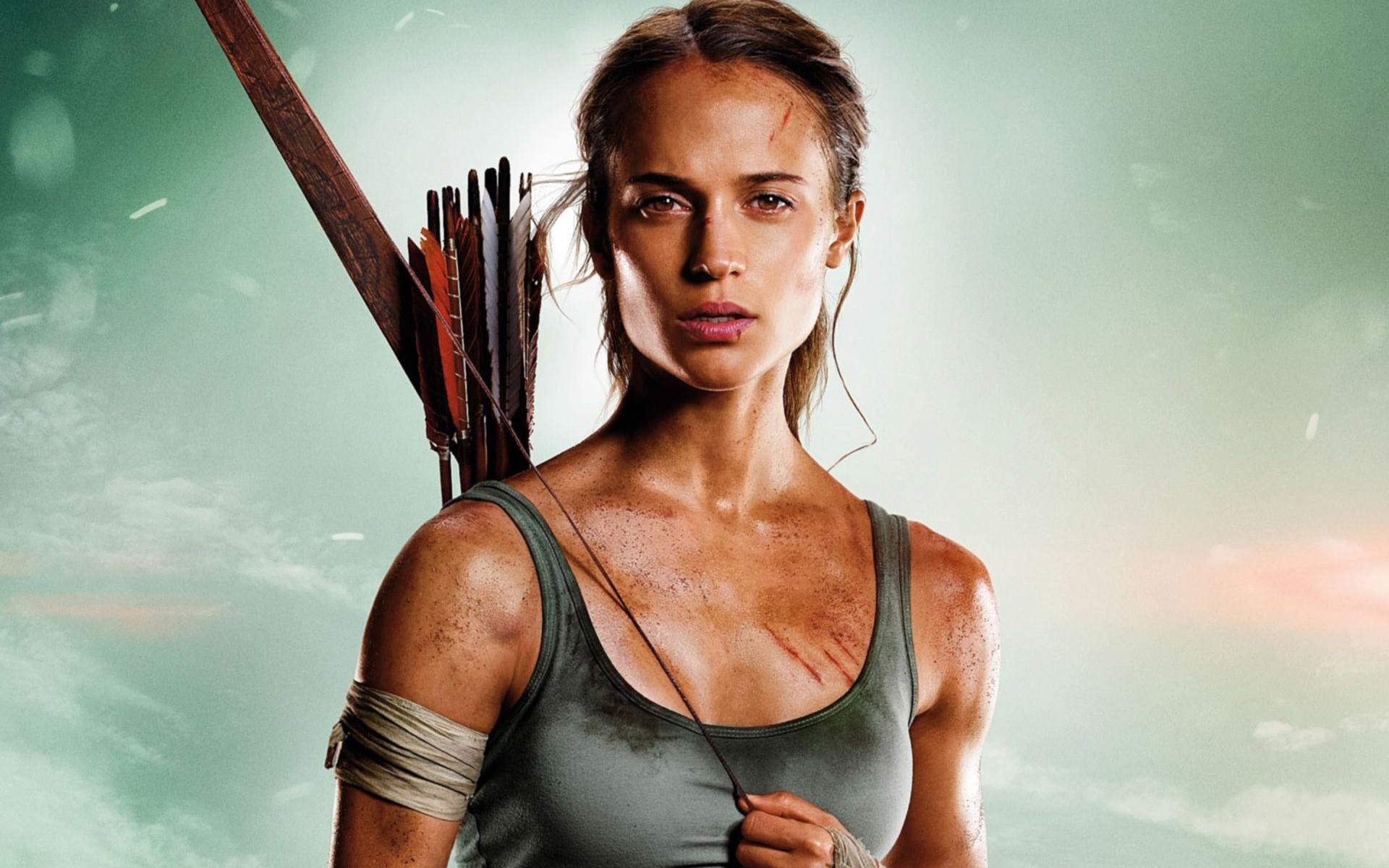 Anime Wallpaper Iphone 7 Plus Tomb Raider Alicia Vikander Lara Croft Wallpapers Hd