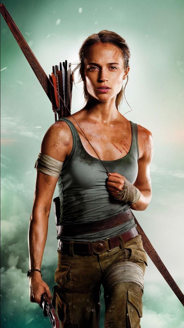 Deadpool Wallpaper For Iphone X Tomb Raider Alicia Vikander Lara Croft Wallpapers Hd