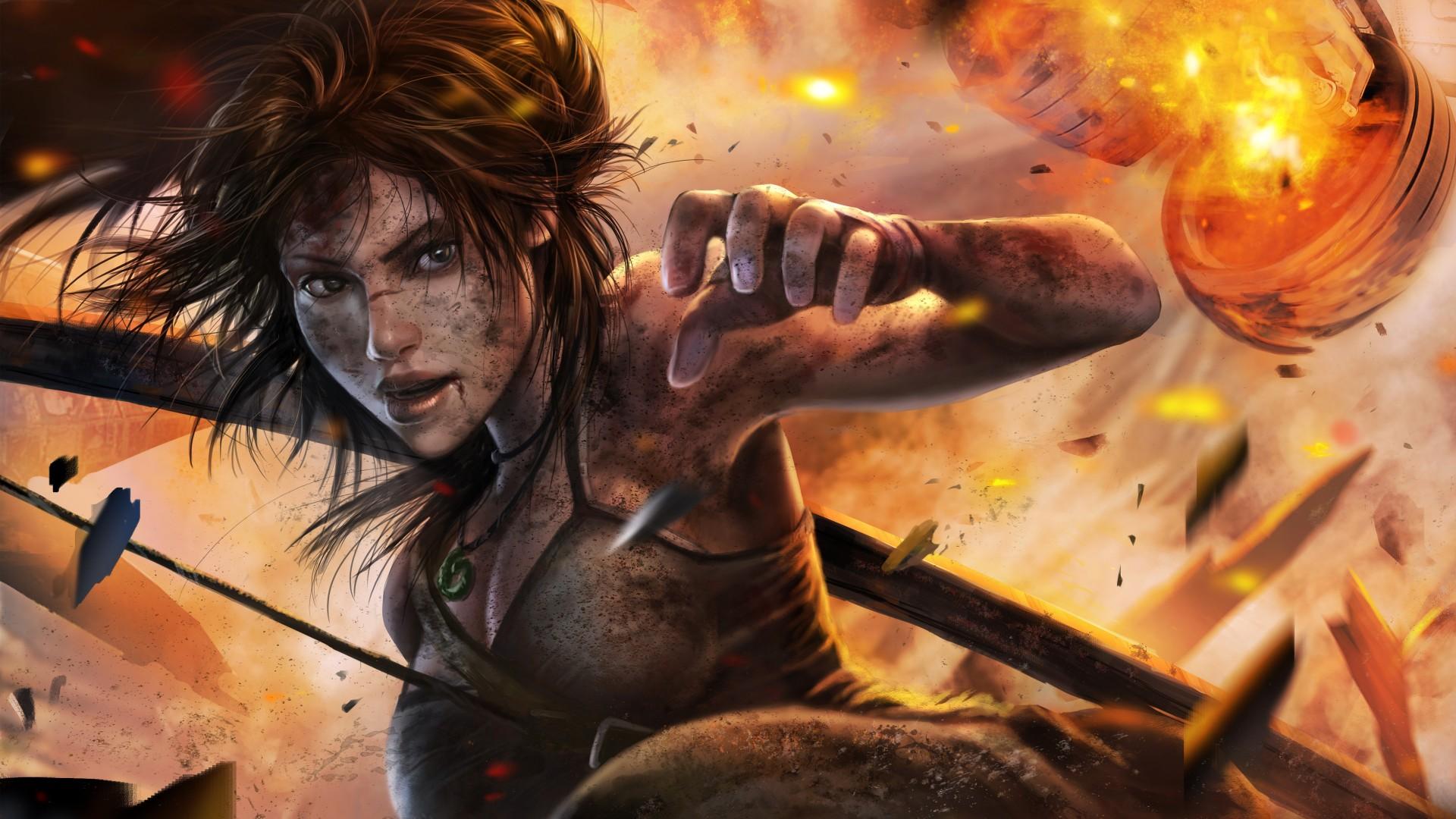 Beach Girl 4k Wallpaper Tomb Raider Lara Croft Wallpapers Hd Wallpapers Id 17389