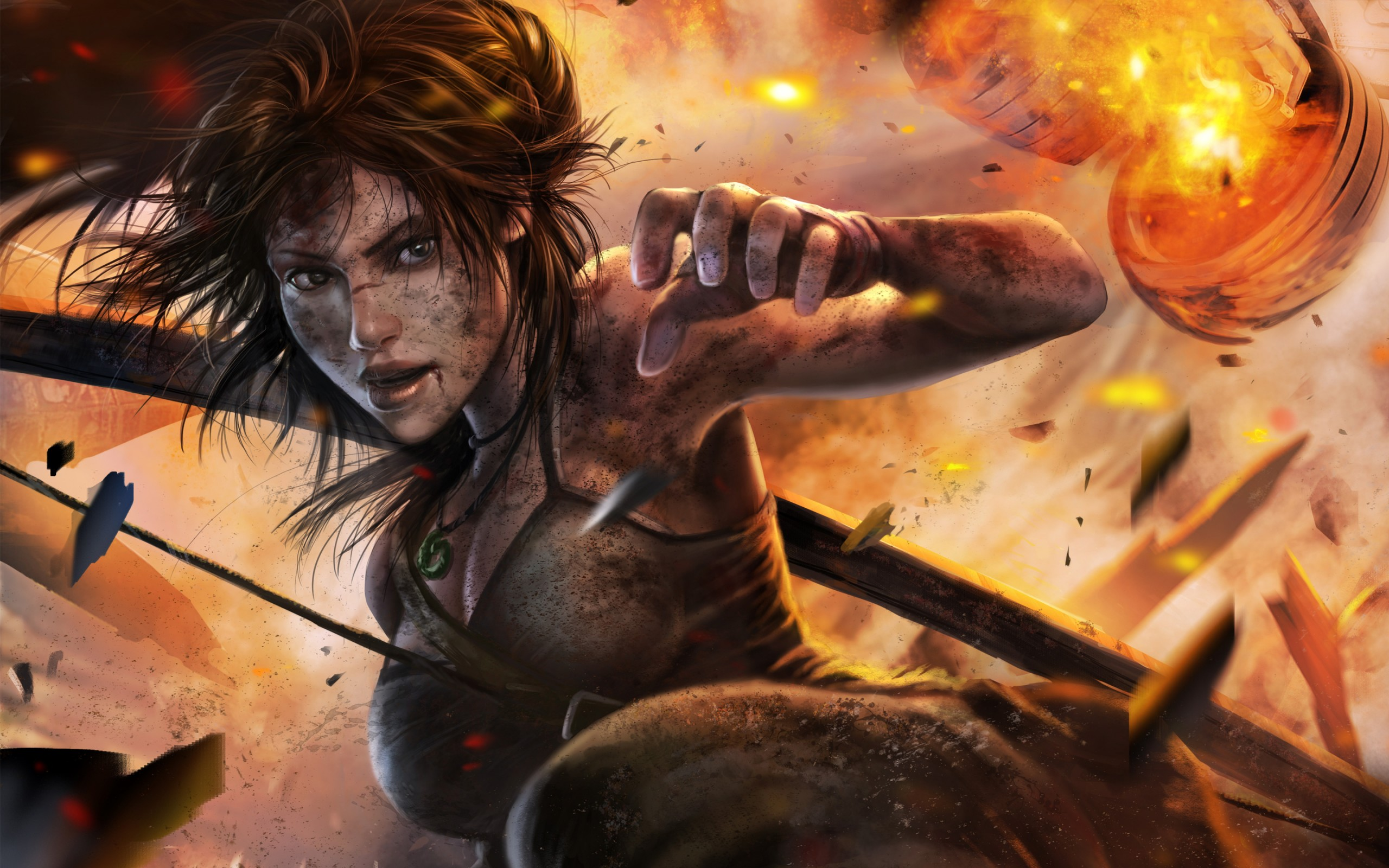 Wonder Woman Cute Wallpaper Tomb Raider Lara Croft Wallpapers Hd Wallpapers Id 17389