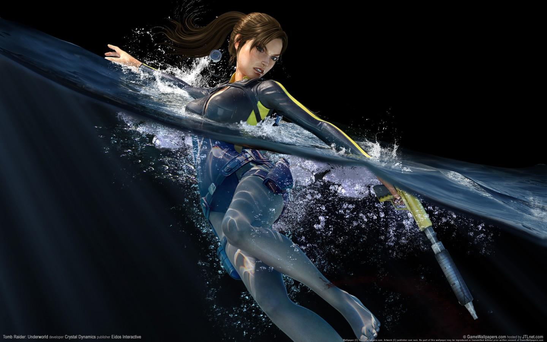 Desktop 3d Wallpaper Download 1280x800 Tomb Raider Underworld Game Hd Wallpapers Hd Wallpapers