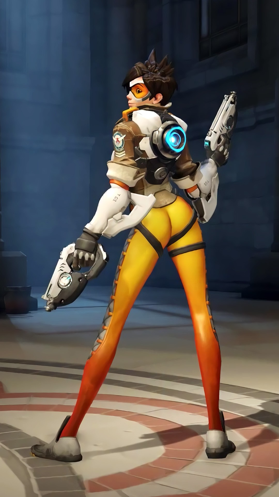 Universe 3d Wallpaper Tracer Overwatch 2016 Wallpapers Hd Wallpapers Id 17742