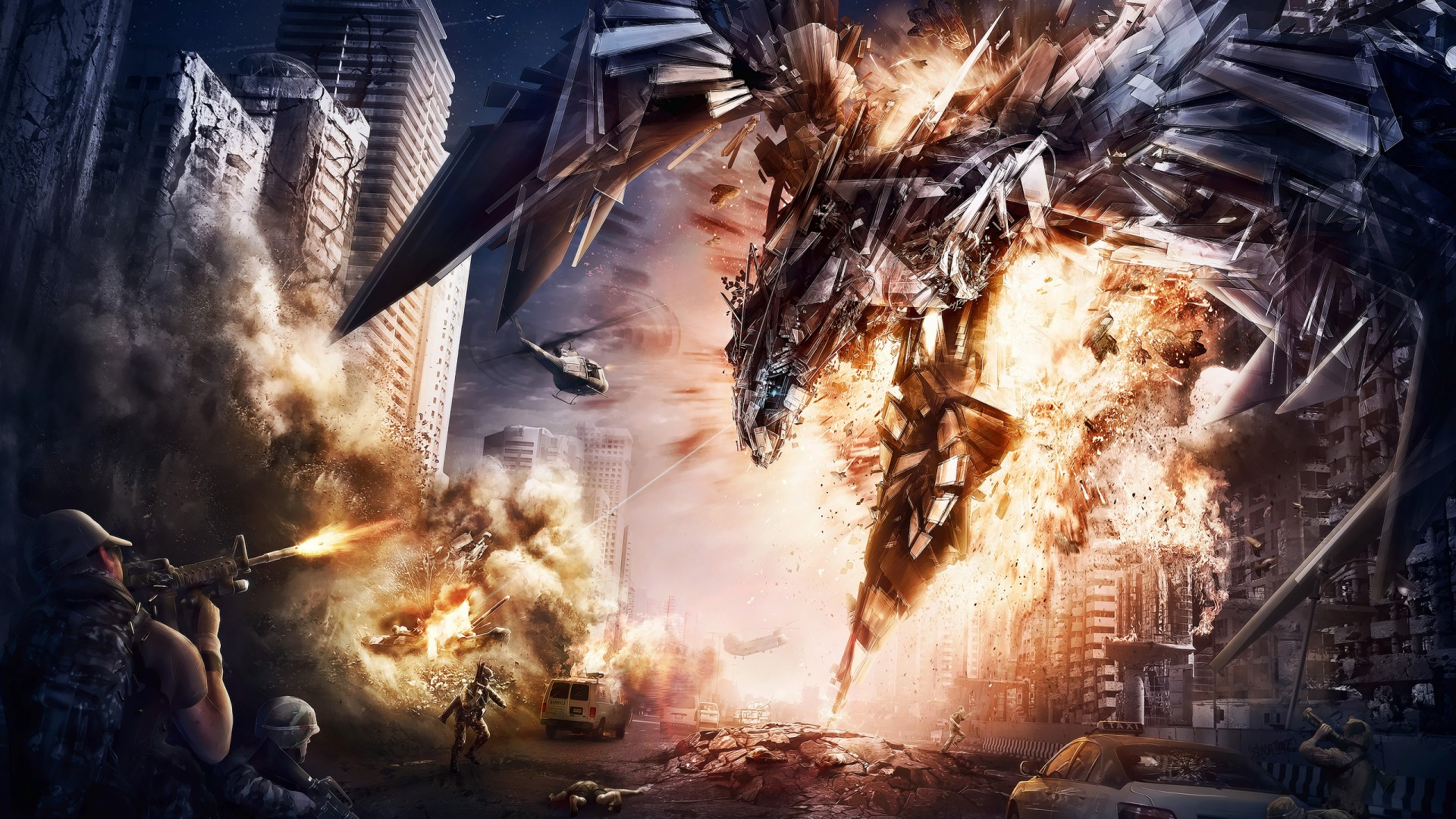 Wallpaper 3d Nature 1280x1024 Transformers 4 Artwork Wallpapers Hd Wallpapers Id 12214
