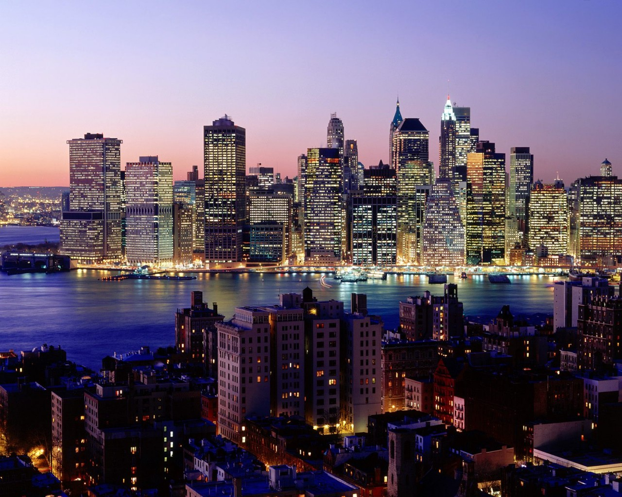 Hong Kong Iphone X Wallpaper Twilight Sky New York Wallpapers Hd Wallpapers Id 886