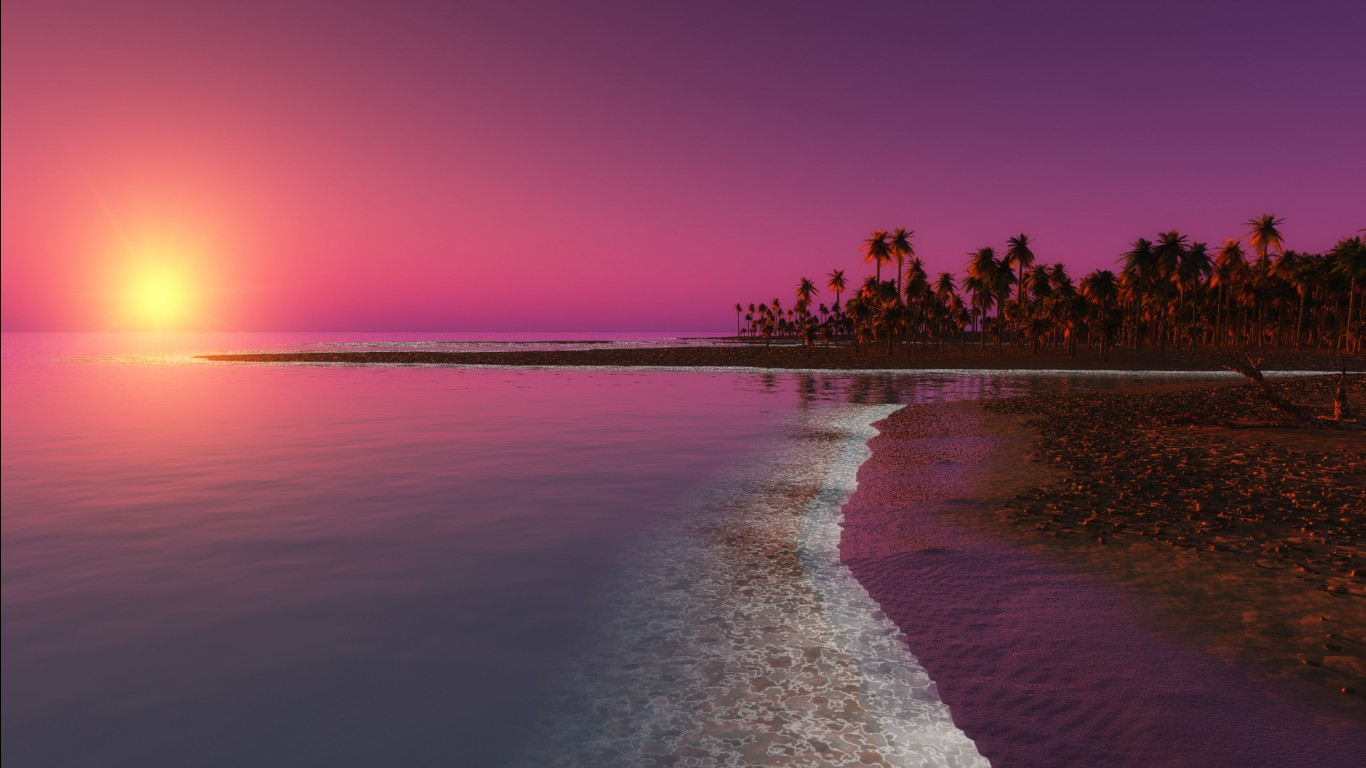 3d Hd Graphics Wallpapers Twilight Sunset Wallpapers Hd Wallpapers Id 12242
