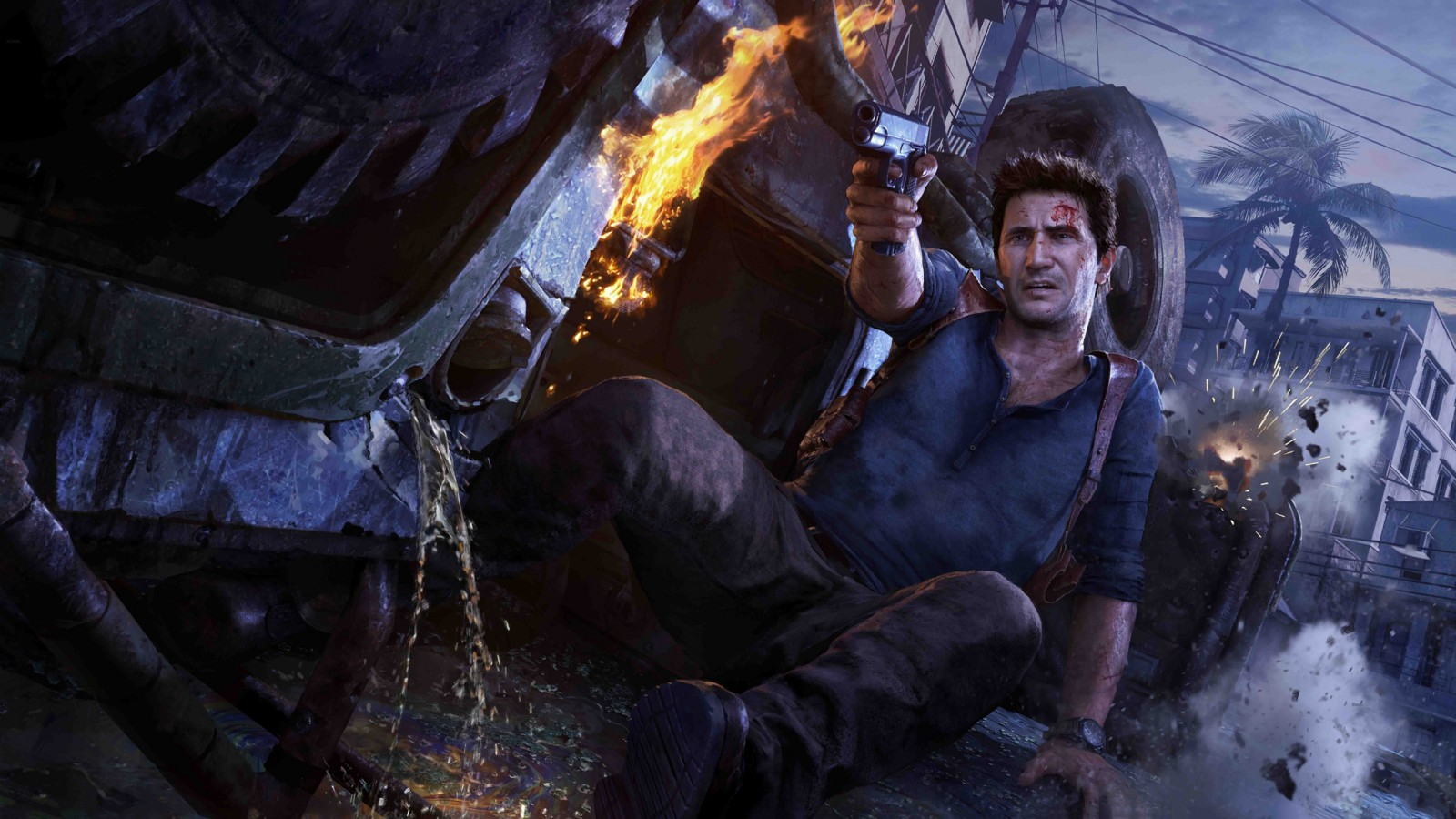 Game Cute Wallpaper Uncharted 4 A Thiefs End Wallpapers Hd Wallpapers Id