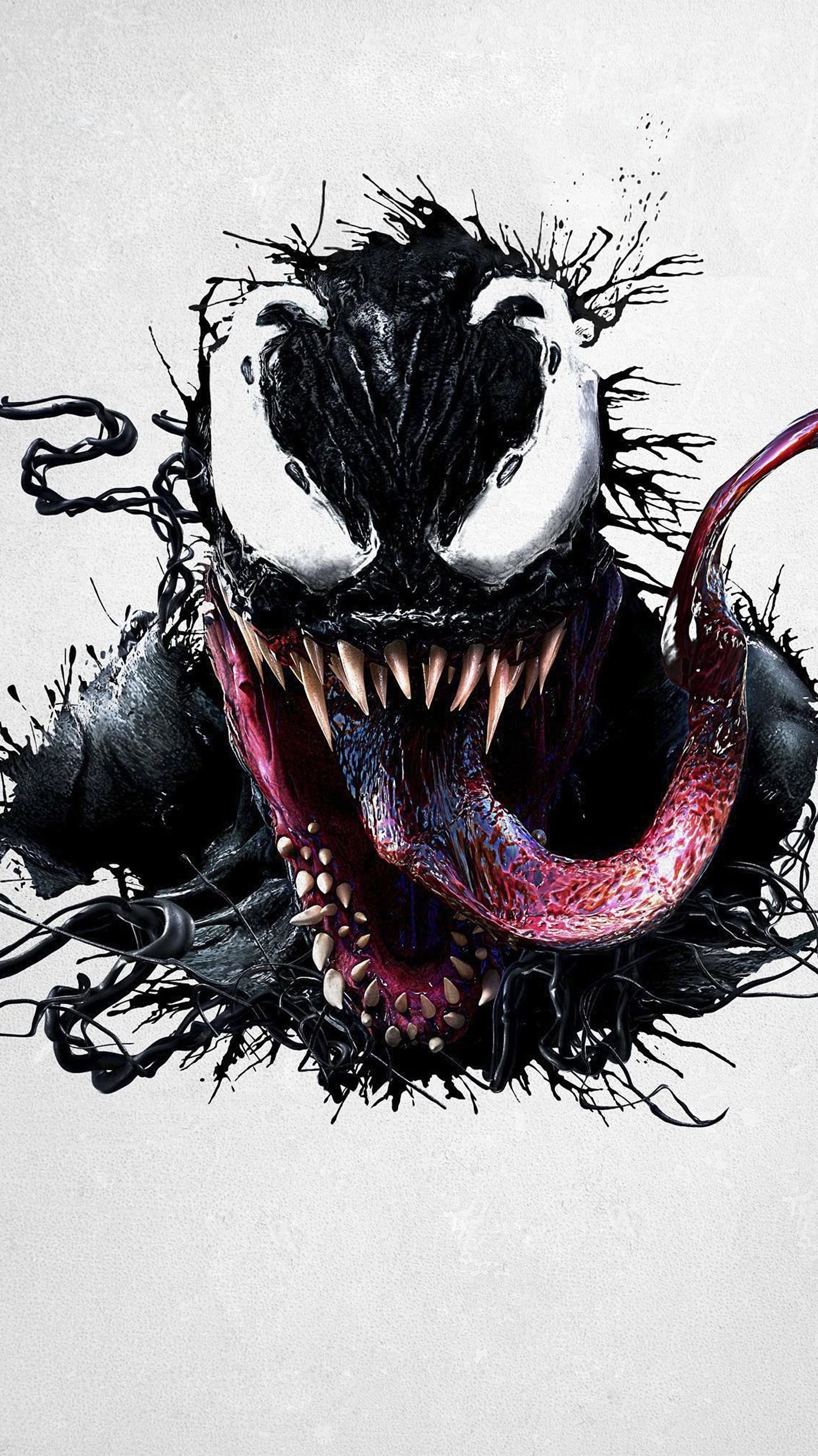 Iphone X Star Wars Wallpaper Venom Imax Promotional Art Wallpapers Hd Wallpapers Id