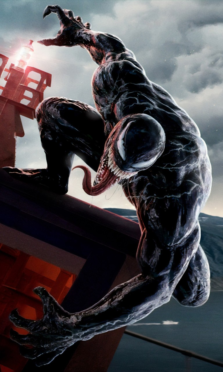 Black Wallpaper Iphone 6 Venom Movie 5k Wallpapers Hd Wallpapers Id 26575