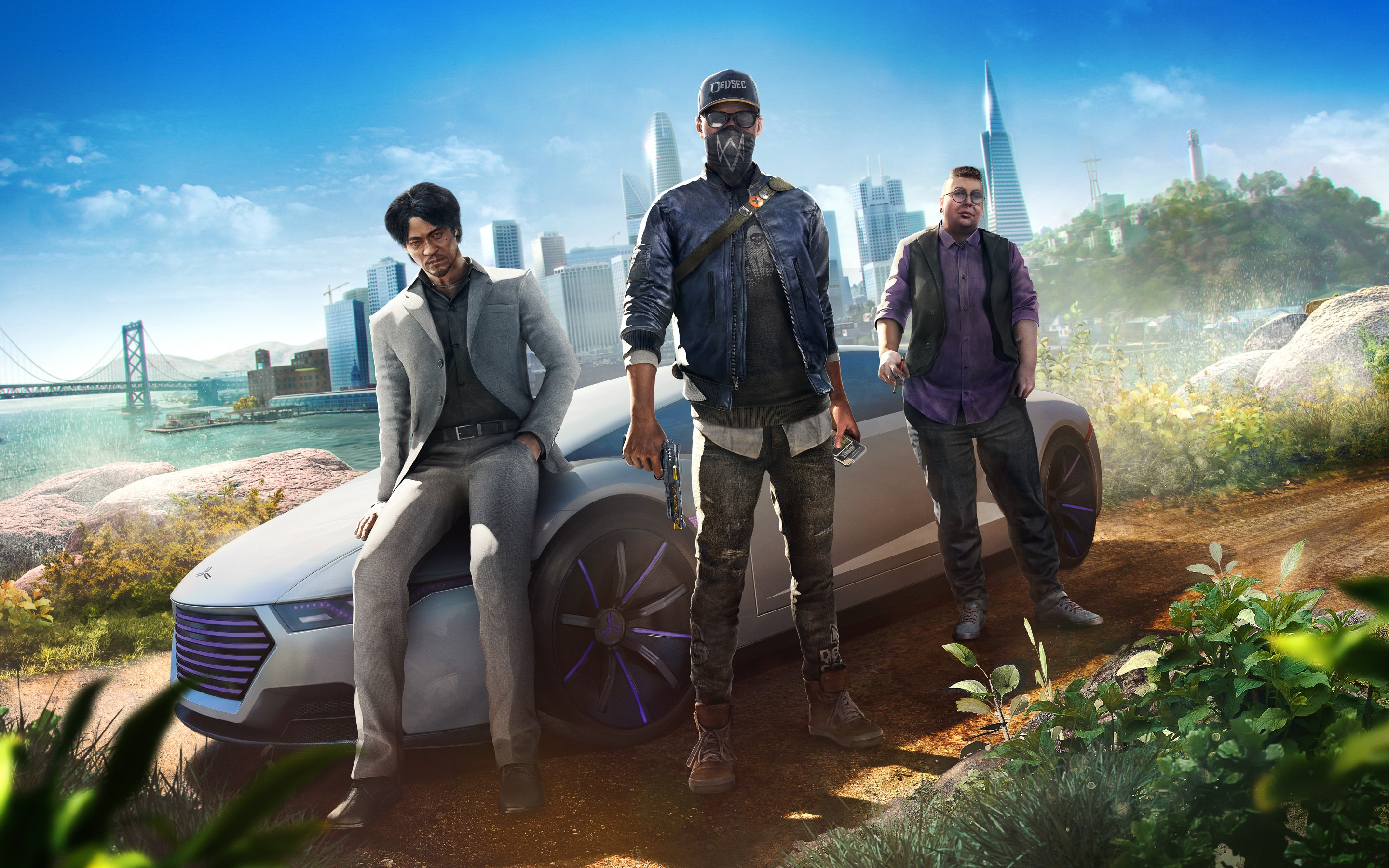 3d Patriots Wallpaper Watch Dogs 2 Human Conditions Dlc 4k 8k Wallpapers Hd