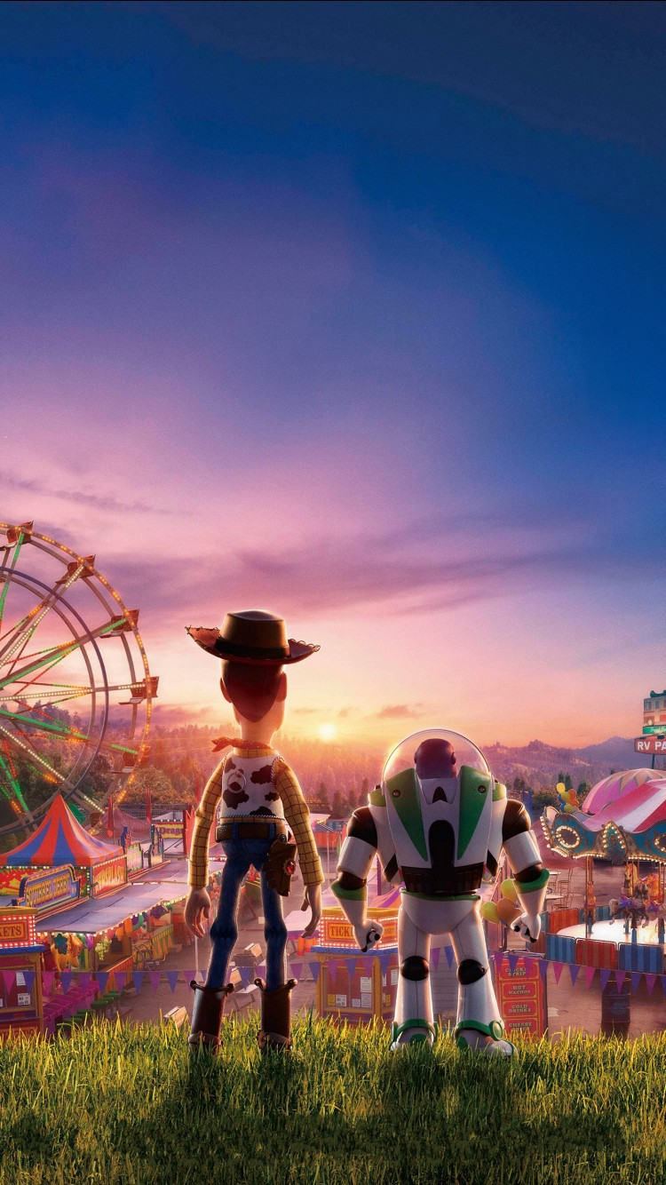 Hd Wallpaper Iphone 7 Woody And Buzz Lightyear On Toy Story 4 4k Wallpapers Hd