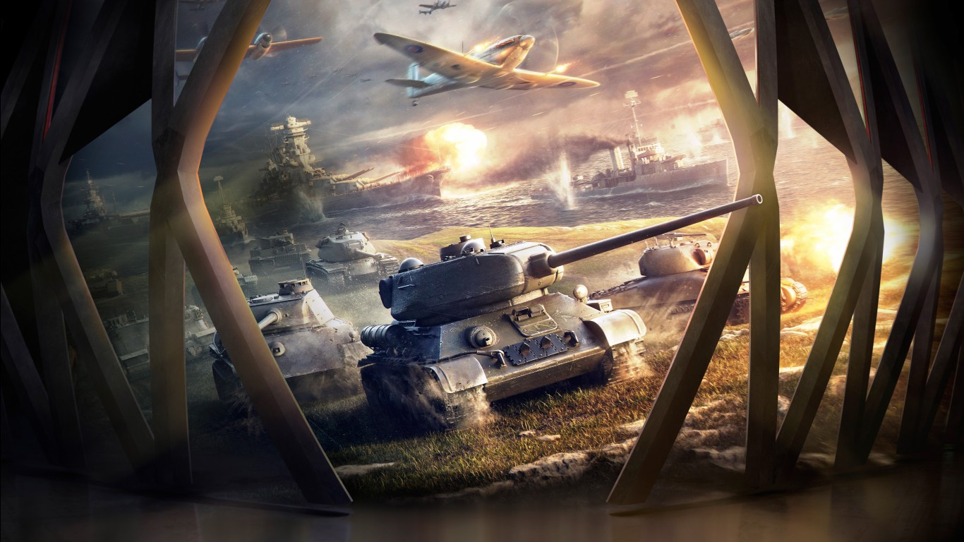 3d Wallpaper Widescreen World Of Tanks Blitz Hd 4k Wallpapers Hd Wallpapers Id
