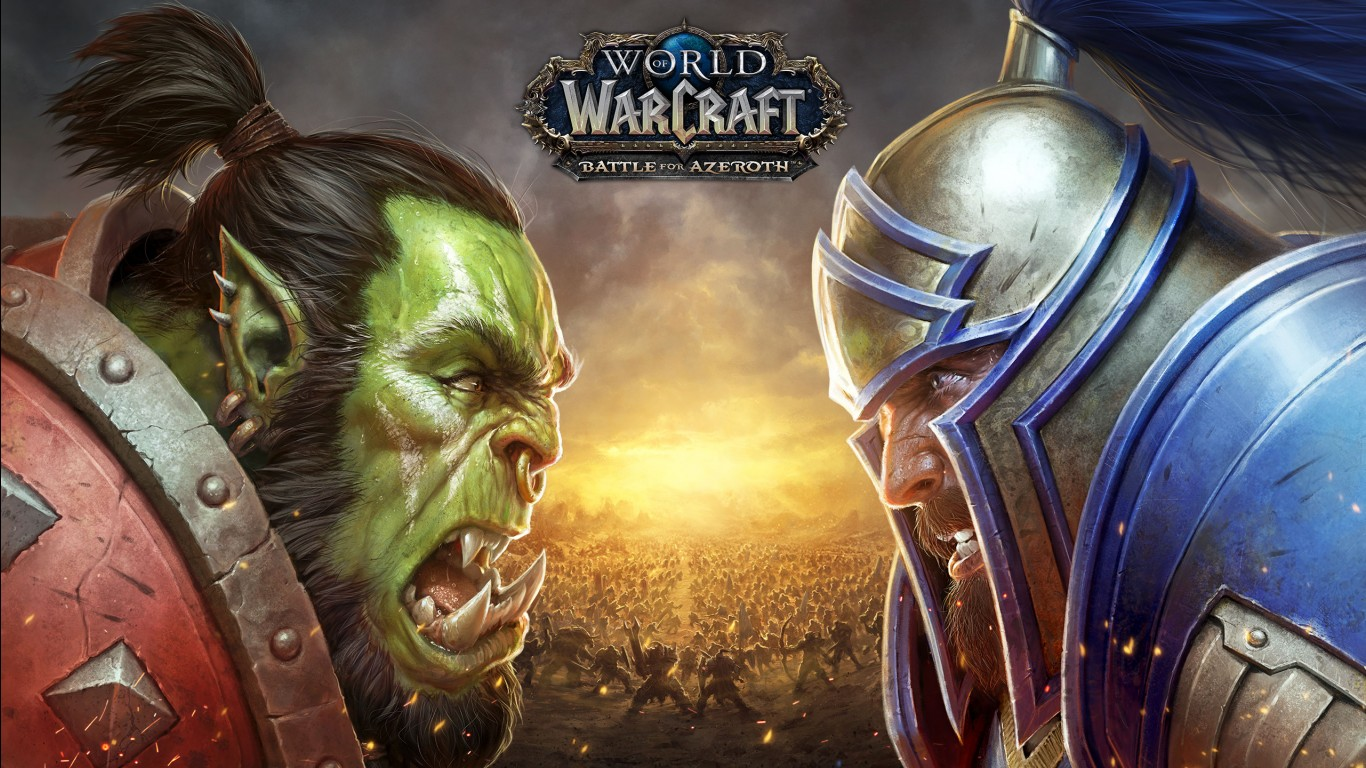 3d Wallpaper Of Cars And Bikes World Of Warcraft Battle For Azeroth 2018 Wallpapers Hd