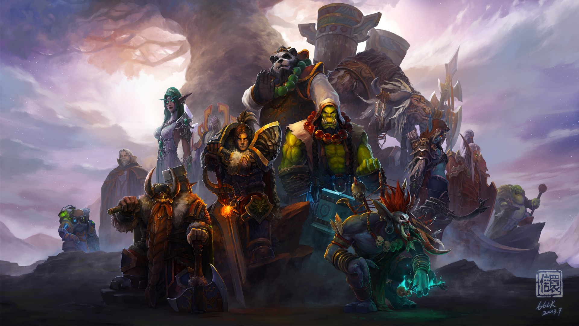 Popular Wallpapers For Iphone 5 World Of Warcraft Characters 4k Wallpapers Hd Wallpapers