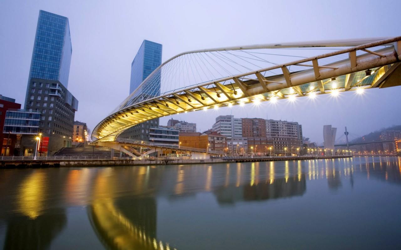 3d Barcelona Wallpapers Zubizuri Bridge Spain Wallpapers Hd Wallpapers Id 8178