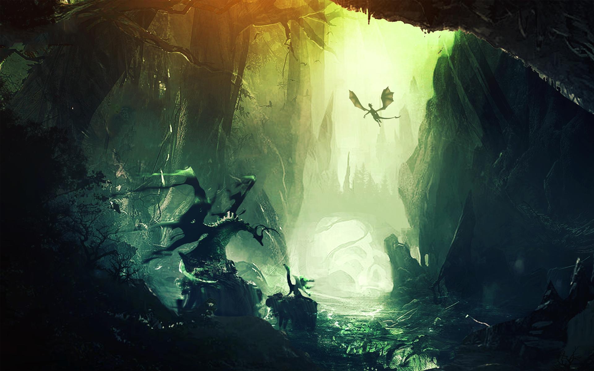 3d Live Waterfall Wallpaper For Desktop Dragon Wings Wallpapers Hd Wallpapers Id 13248