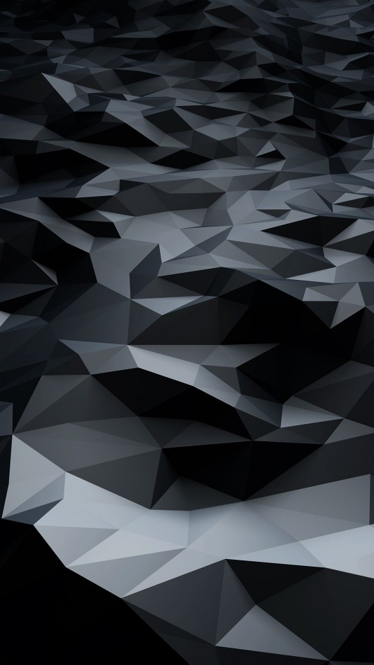 Samsung Galaxy Wallpaper Hd Download Abstract Black Low Poly Hd Wallpaper For Galaxy
