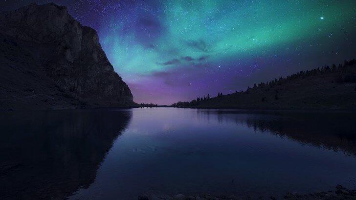 Iphone 6s Wallpaper Hd Quotes Aurora Over Bannalpsee Switzerland Wallpaper Nature Hd