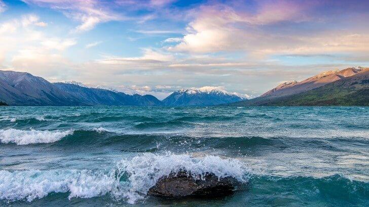 Lg Optimus 3d Wallpaper Lake Ohau New Zealand Wallpaper Nature Hd Wallpapers