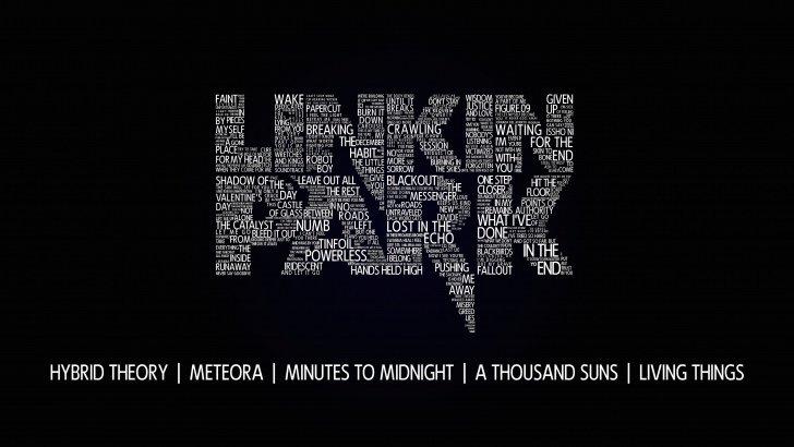 Lg Optimus 3d Wallpaper Linkin Park Typography Wallpaper Typography Hd