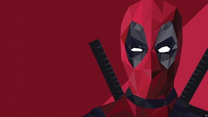 3d Wallpaper For Droid Low Poly Deadpool Wallpaper Digital Art Hd Wallpapers
