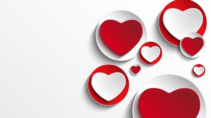Samsung Galaxy S3 Wallpaper Quotes Minimalistic Hearts Shapes Wallpaper Love Hd Wallpapers