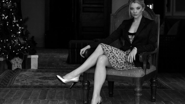 Hd 3d Droid Wallpapers Natalie Dormer In Black Amp White Wallpaper Celebrities Hd