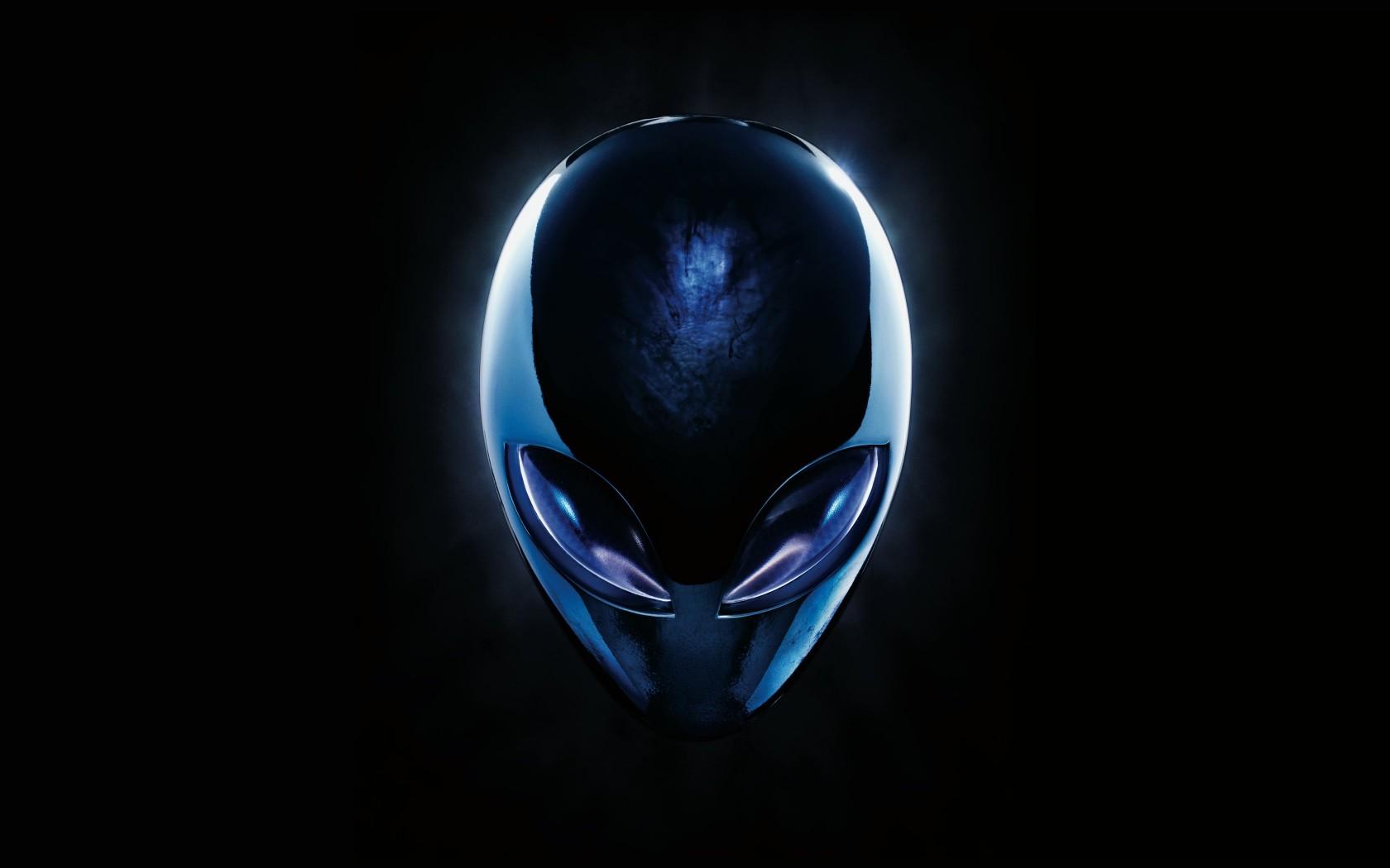Blue Wallpaper Hd Download Alienware Blue Logo Hd Wallpaper For 1680x1050 Screens