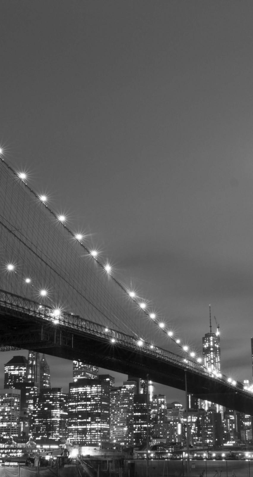 Iphone 6 New York City Wallpaper Brooklyn Bridge New York City In
