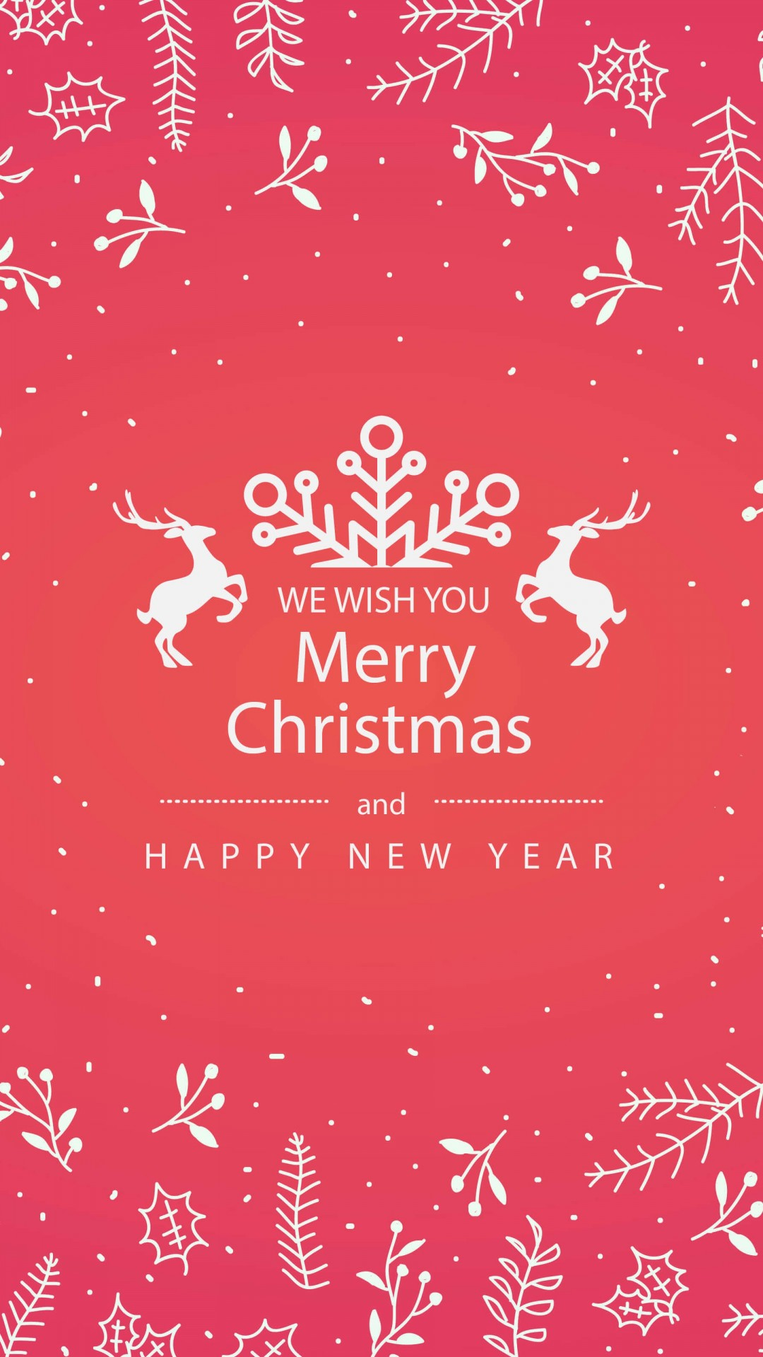 Wallpaper Hd Happy New Year Merry Christmas Floral Hd Wallpaper For Xperia Z1 Screens