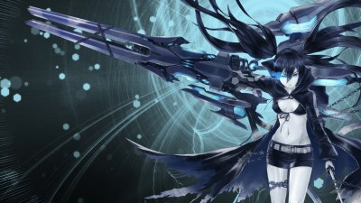 Black Rock Shooter Hd Wallpaper