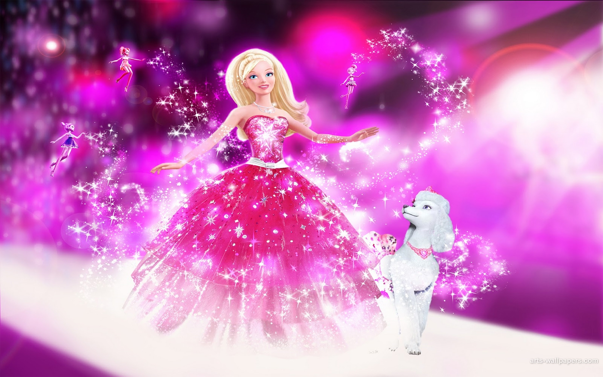 3d Angel Wallpapers Free Barbie Wallpapers Free Download