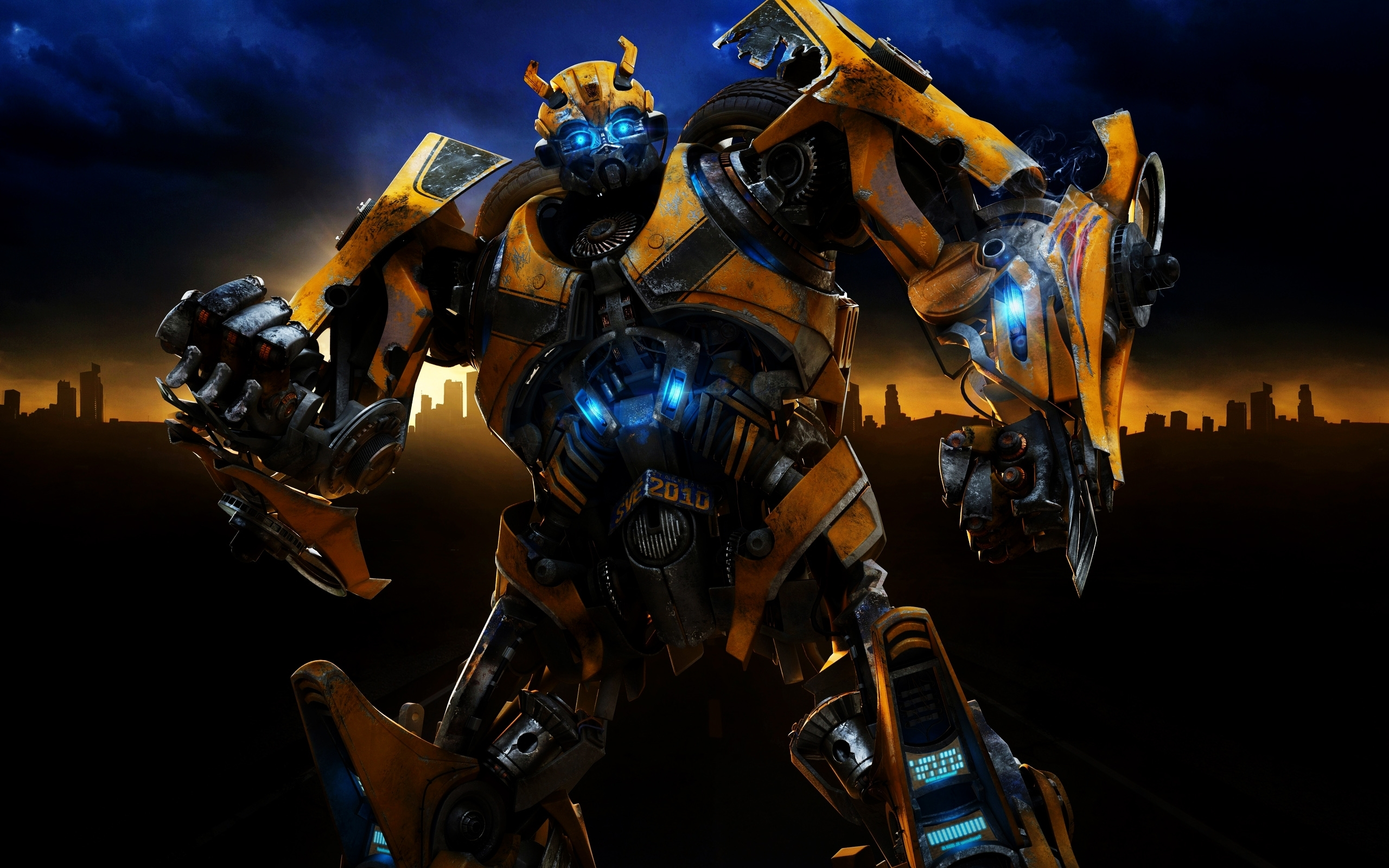 Transformers Fall Of Cybertron 4k Wallpaper Bumble Bee Transformers Car Hd