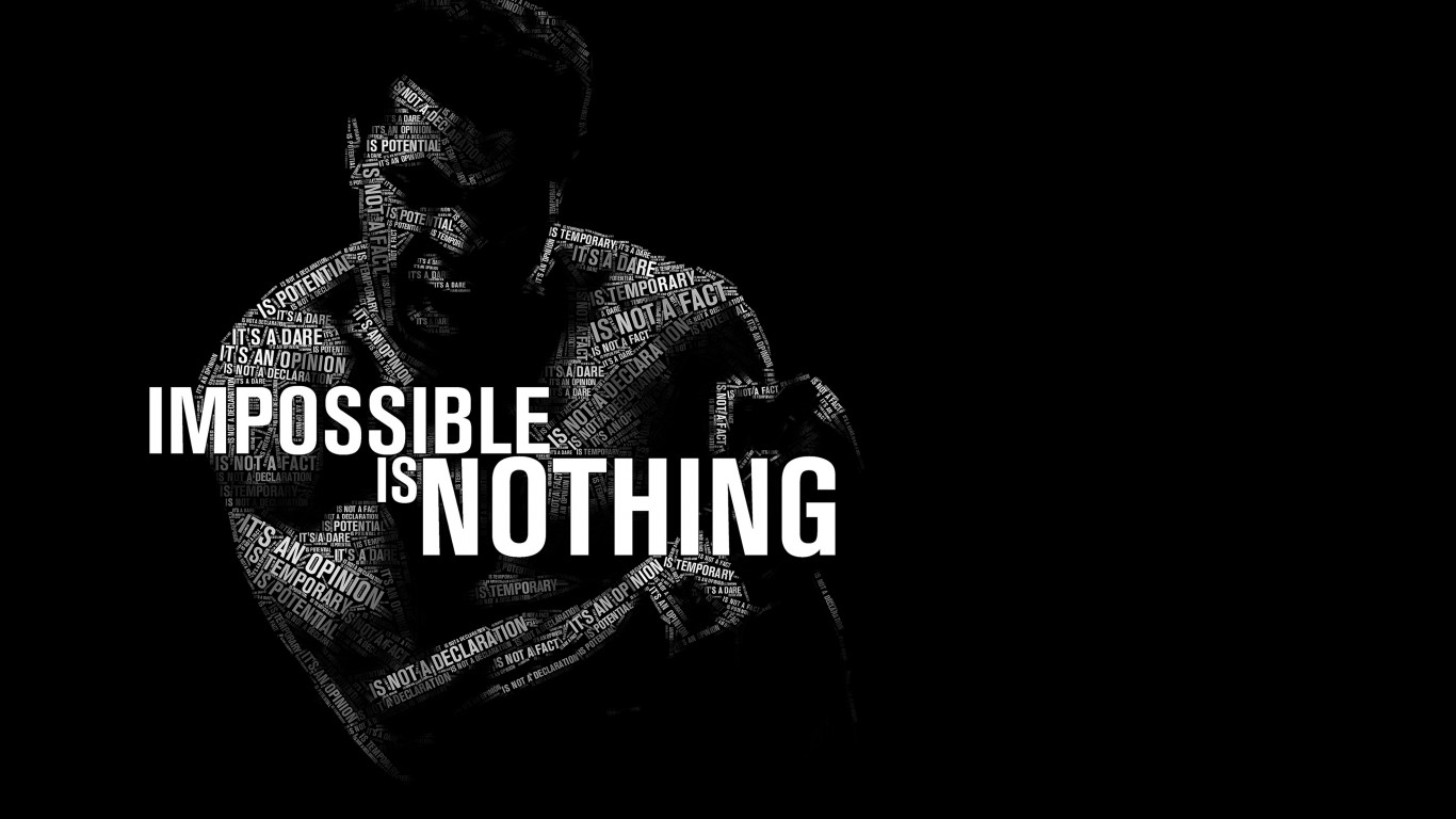 Iphone 6 Wallpaper Life Quotes Impossible Is Nothing Muhammad Ali Wallpaper Quotes Hd